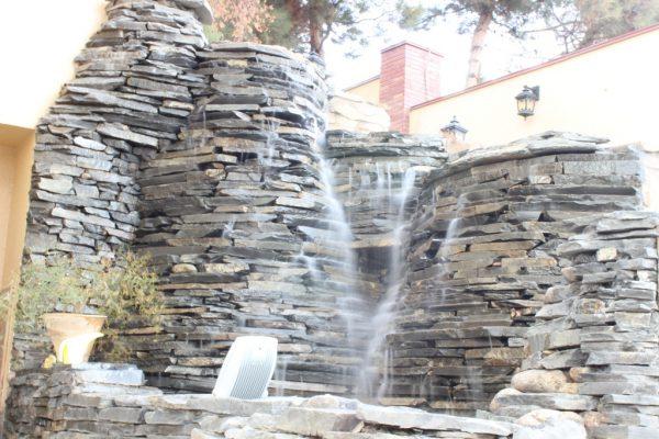 آبنمای صخره ای 6 متری