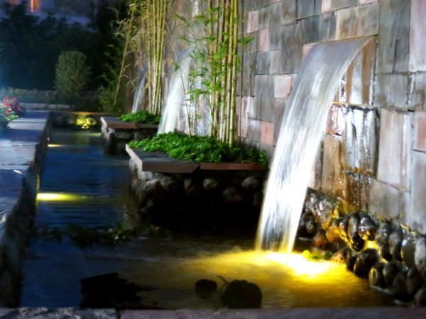 باکس آب سرریز ـ نورپردازی