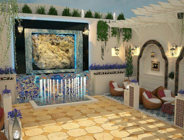 طرح نهایی رستوران گیلکی هتل تاج محل تهران
