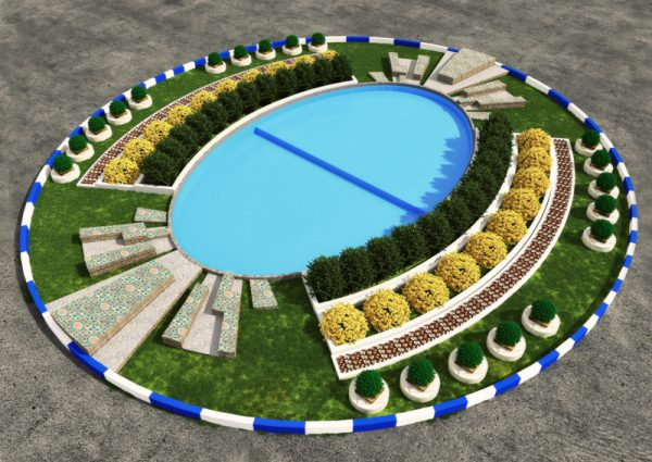 طراحی فضای سبز هسته مرکزی میدان پاستور