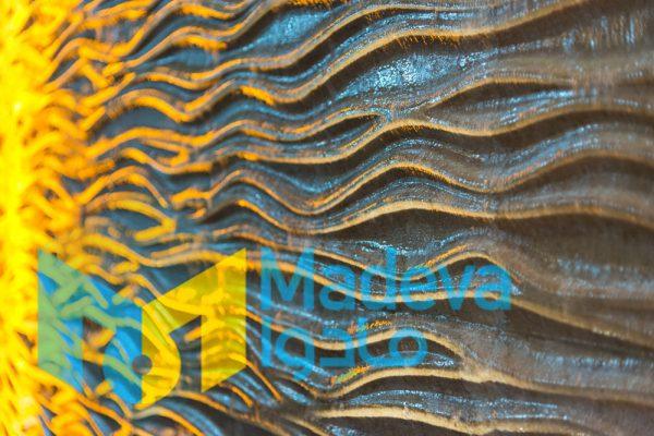 ابزار سی ان سی موجی برای آبنمای دیواری