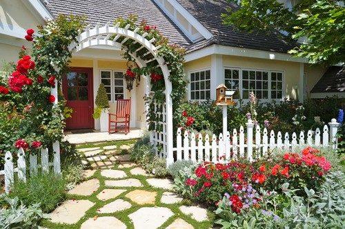 طراحی حیاط شمالی برای جذب خریداران