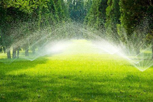 به کار گیری و نگهداری سیستم آبیاری محوطه و فضای سبز